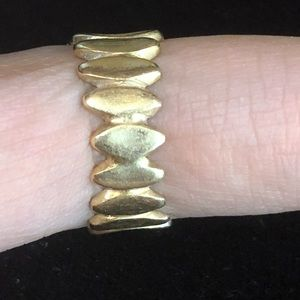 Vintage Jewelry - 14kt yellow gold vintage design ring/band